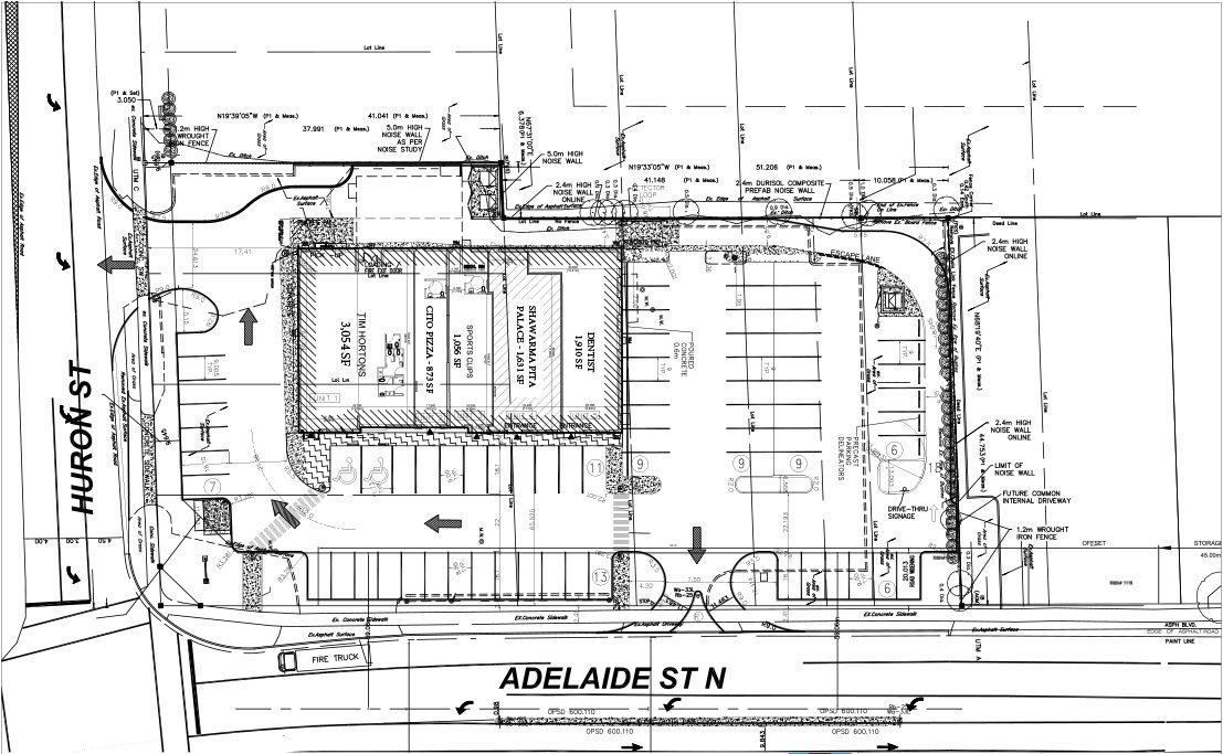 1103 Adelaide siteplan