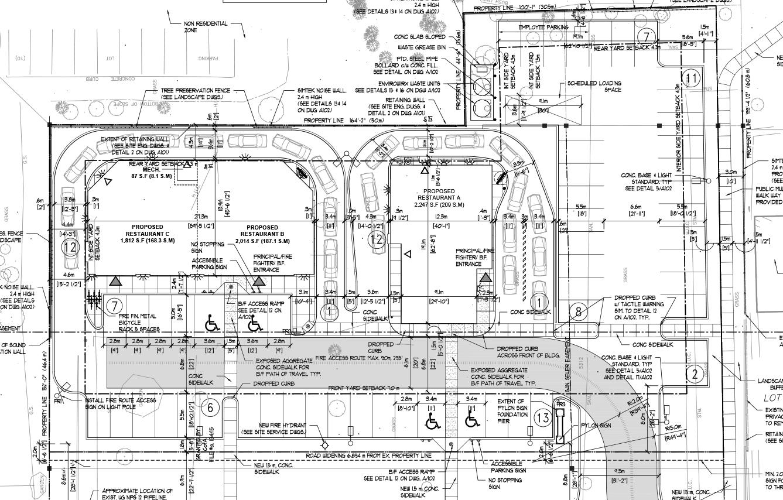 1192 Highbury Siteplan