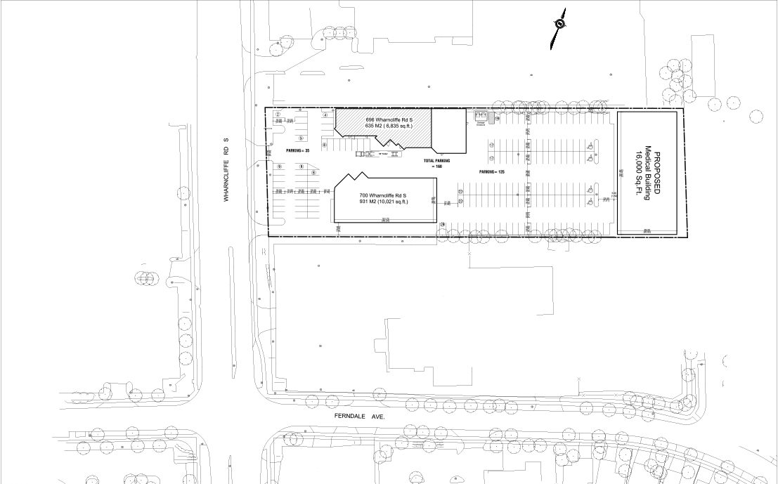 700 Wharncliffe Site Plan