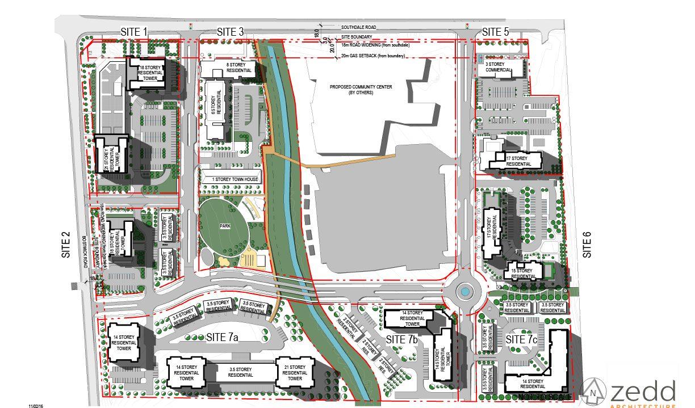 Bostwick Road Siteplan